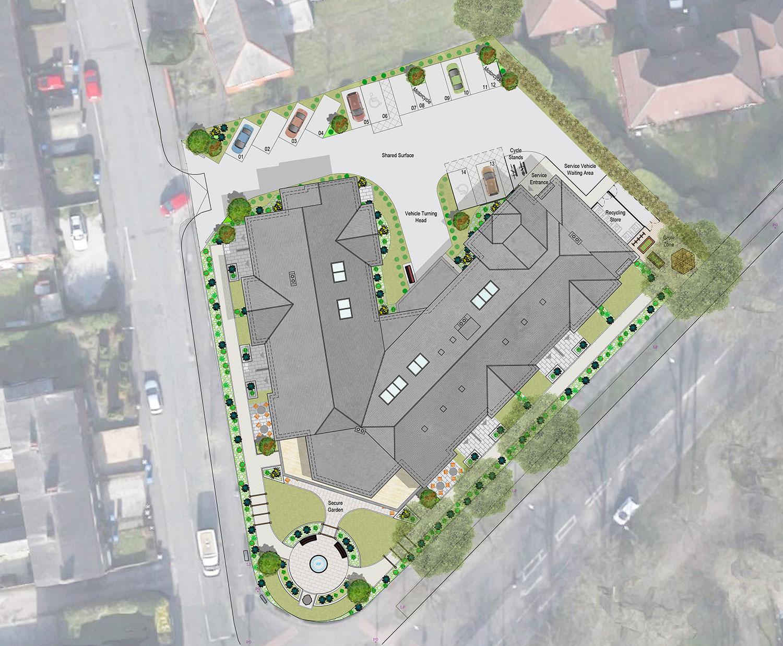 Bowfell House Site Plan