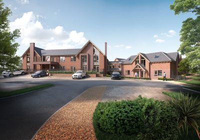 72 Bedroom Care Home in Hale Submitted for Planning