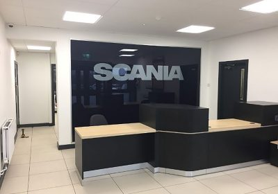 Scania (GB) Ltd Leeds refurbishment completed