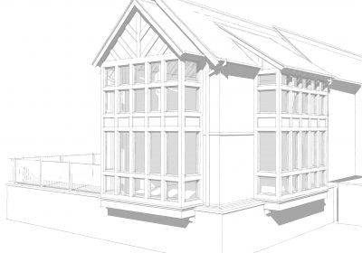 Cheshire manor house two storey extension starts on site