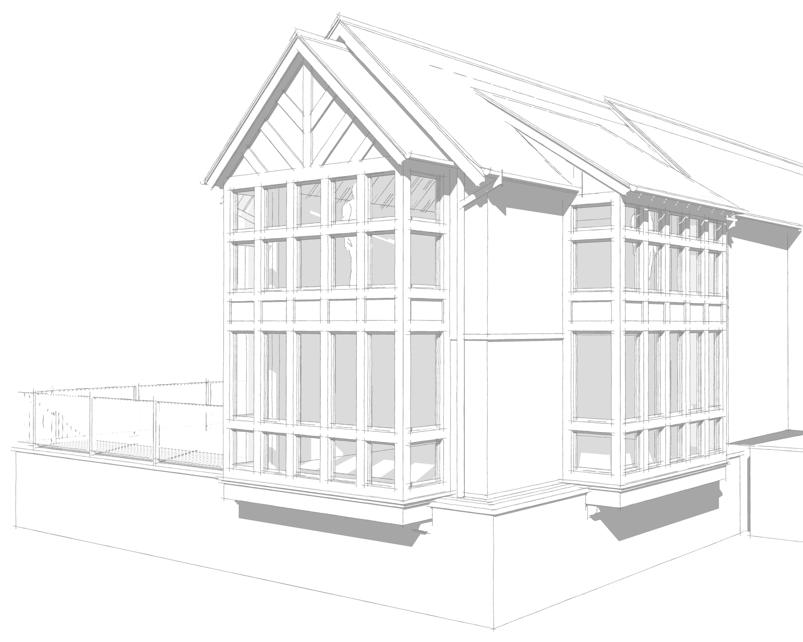 Cheshire manor house two storey extension starts on site – C Squared ...
