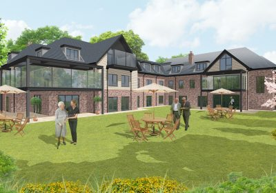 Proposed 75 bedroom care home submitted